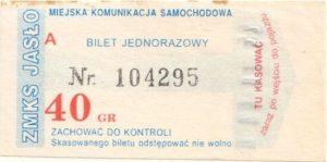 Bilet Jasło